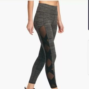 DKNY mesh leggings